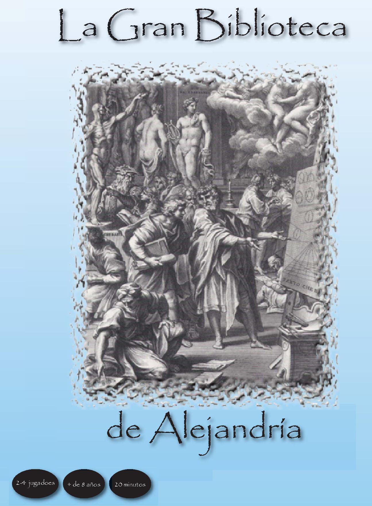 """""""La Gran Biblioteca de Alejandría"""", juego de mesa diseñado por Gregori navarro"""