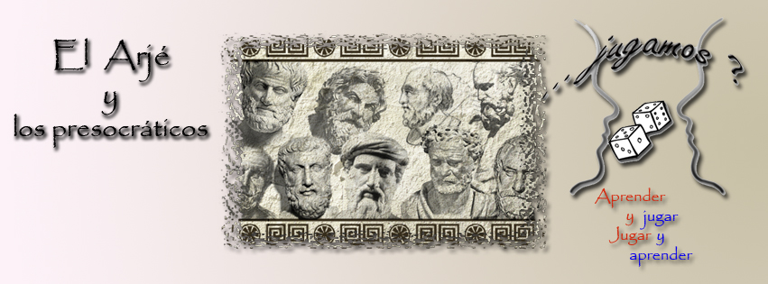 """""""El Arjé y los presocráticos"""", juego de mesa diseñado por Gregori Navarro"""