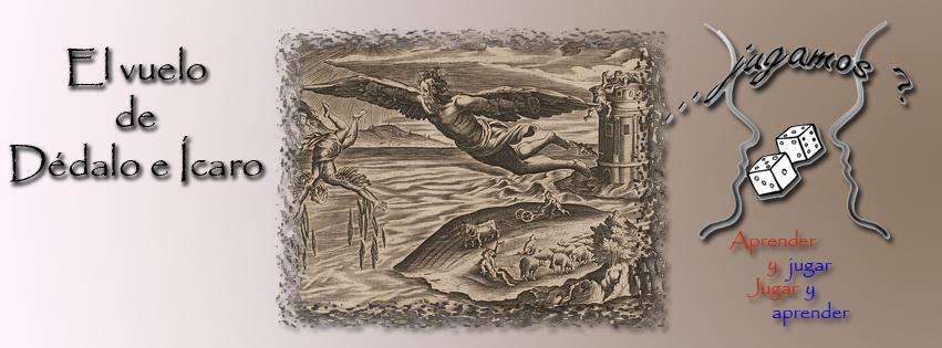 El vuelo de Dédalo e Ícaro