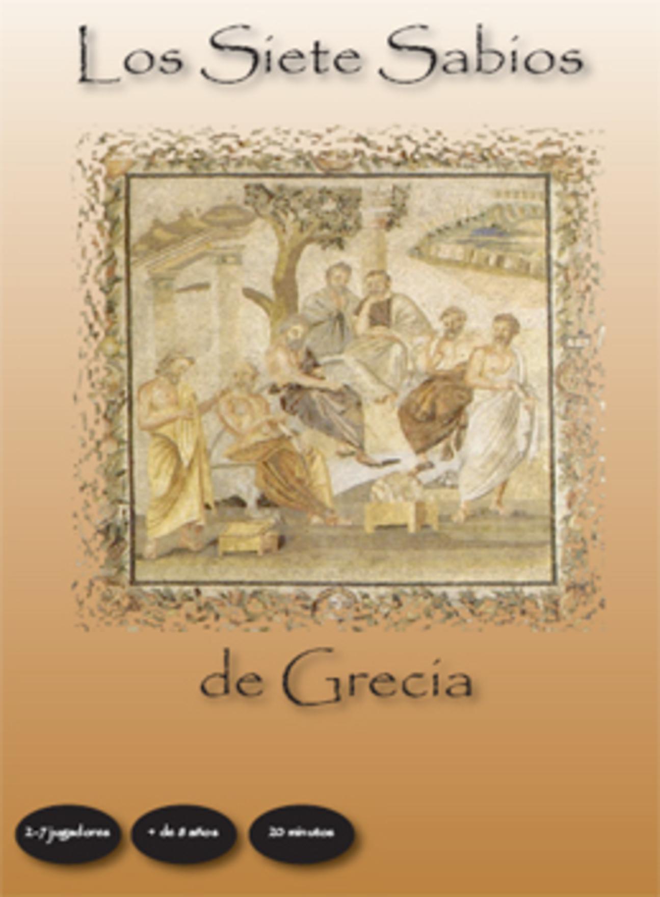 """""""Los Siete Sabios de Grecia"""", juego de mesa diseñado por Gregori Navarro"""