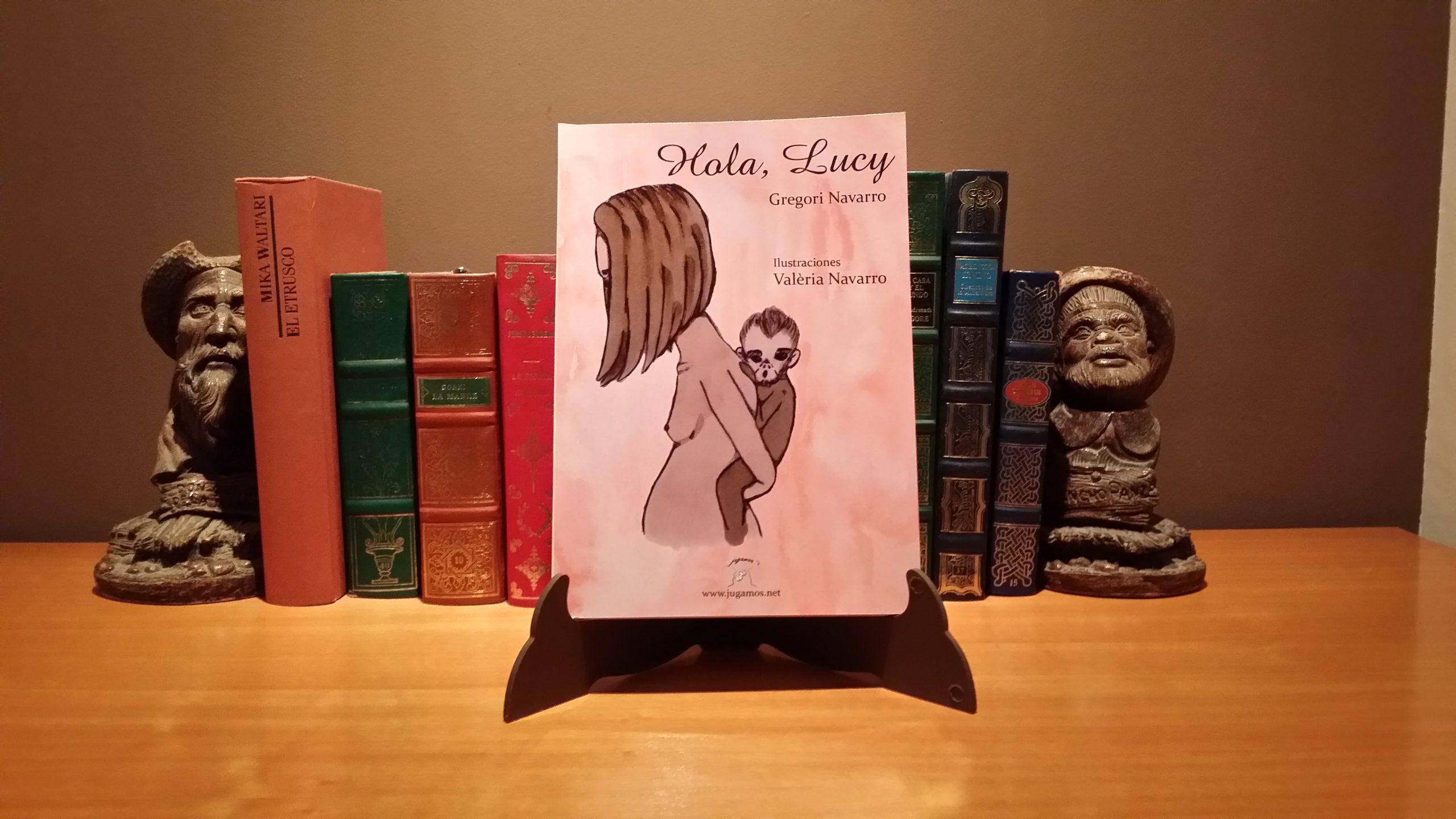 """""""Hola Lucy"""" un relato de Gregori Navarro con ilustraciones de Valèria Navarro"""